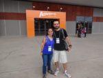 Eu e o Mario, do Trekking Brasil