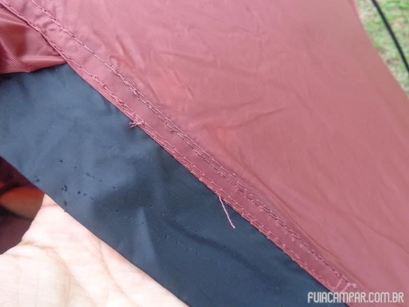 Detalhe de algumas costuras