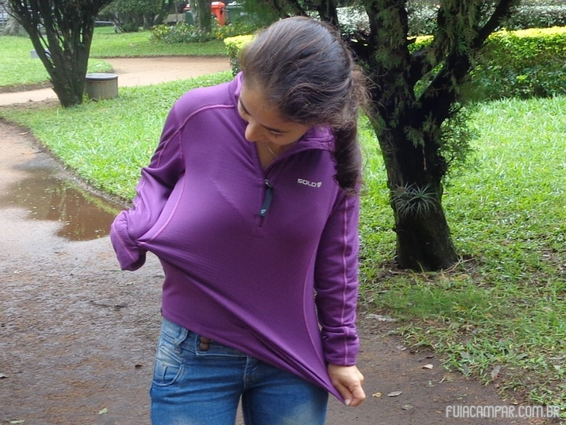 Blusa Zip X-Thermo air Lady, da Solo 15