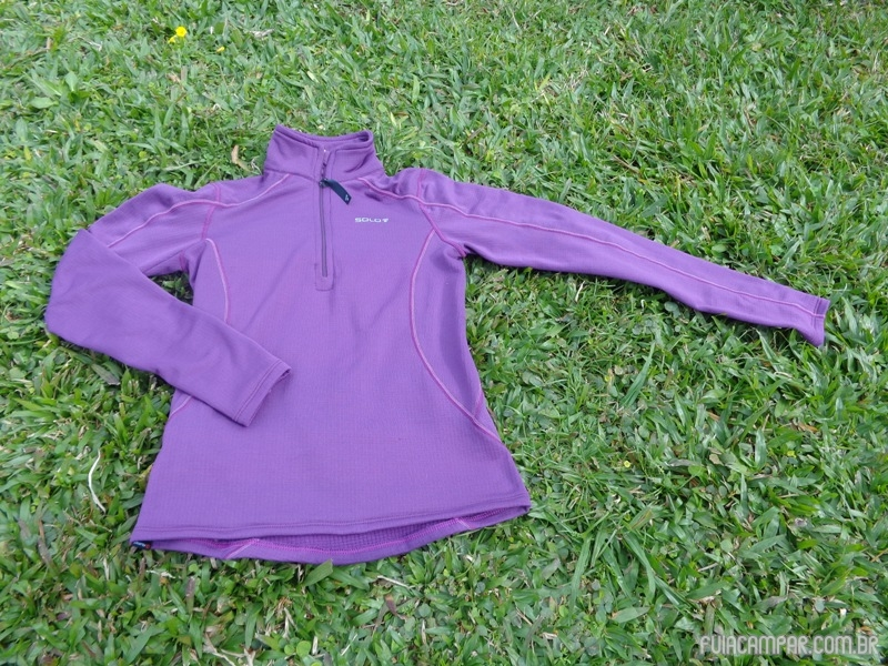Blusa Zip X-Thermo air Lady, da Solo 17