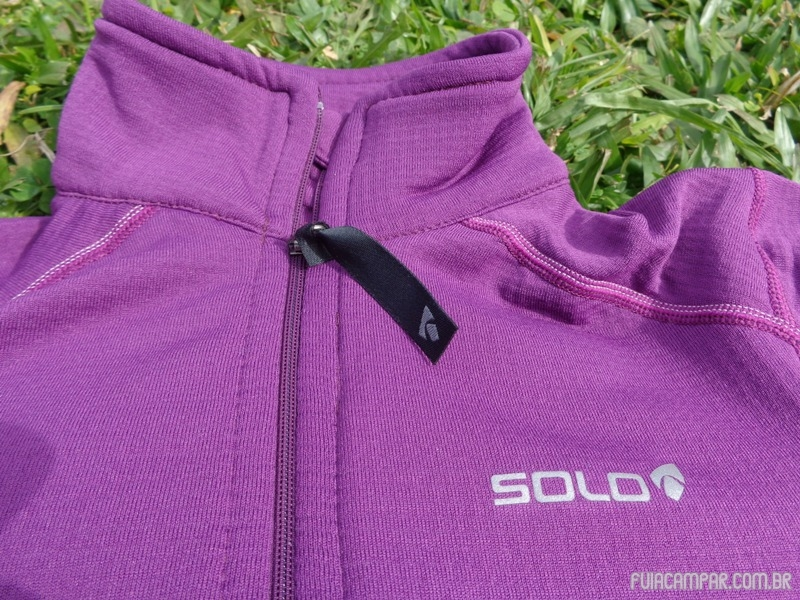 Blusa Zip X-Thermo air Lady, da Solo 18
