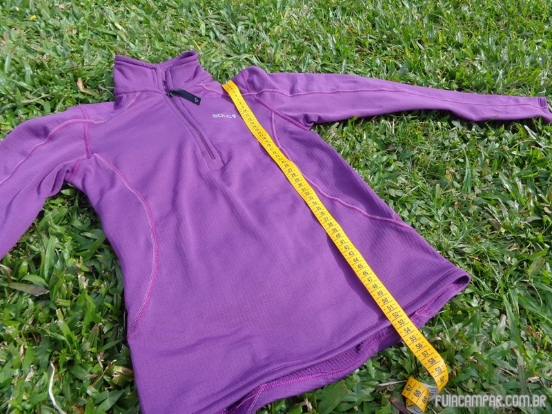 Blusa Zip X-Thermo air Lady, da Solo 19