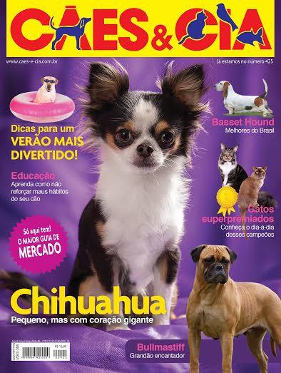Capa da Matéria Cães e Cia