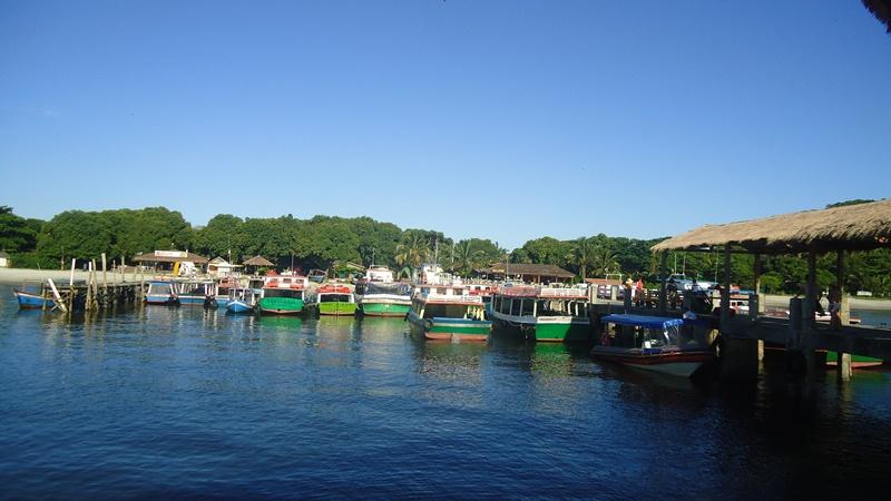 Pier de Encantadas, na Ilha do Mel