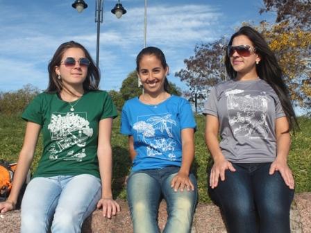 Lançamento das Novas Camisetas do FuiAcampar - Coleção Sensações -  FuiAcampar 2ebfca29b4851