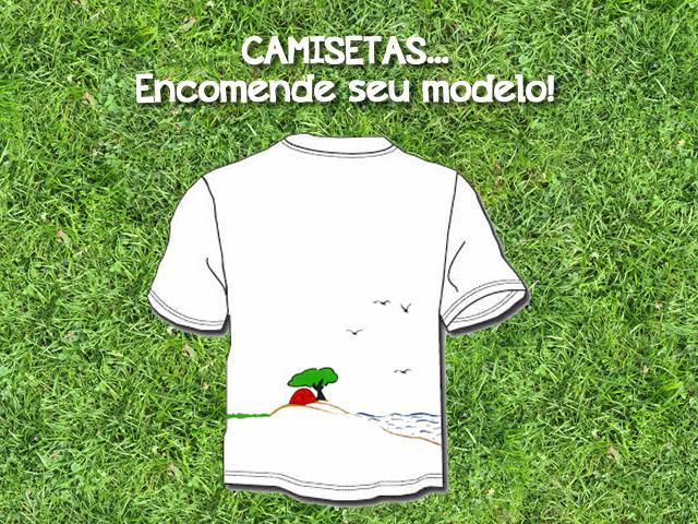 Lançamento camisetas artesanais - FuiAcampar 1f40a8cffbc92