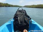 Em uso, passeando de caiaque pelo Rio Jequiá (AL)