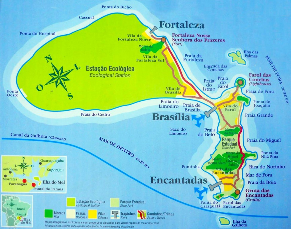 ilha-do-mel-mapa