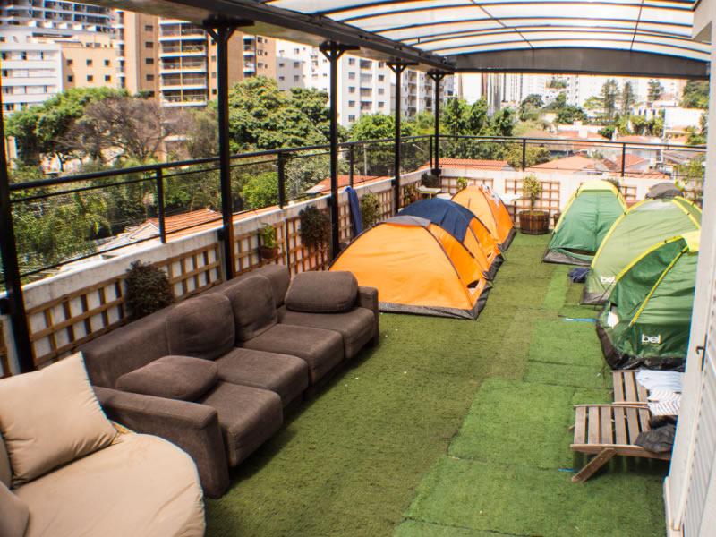 Read more about the article Hostel cria Camping Urbano em um Prédio em São Paulo