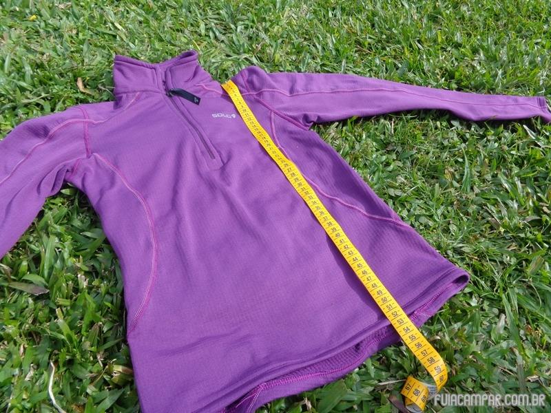 Blusa Zip X-Thermo air Lady, da Solo 19