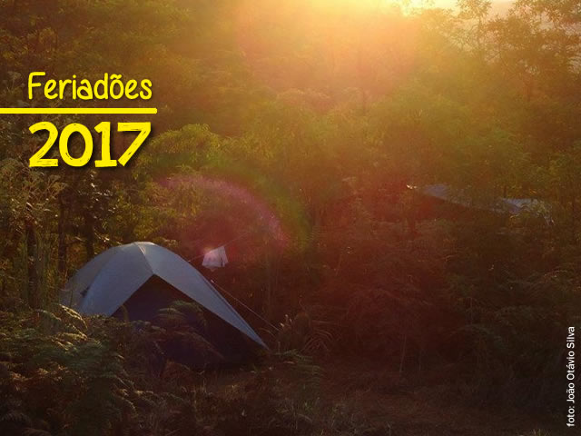 Feriadões de 2017