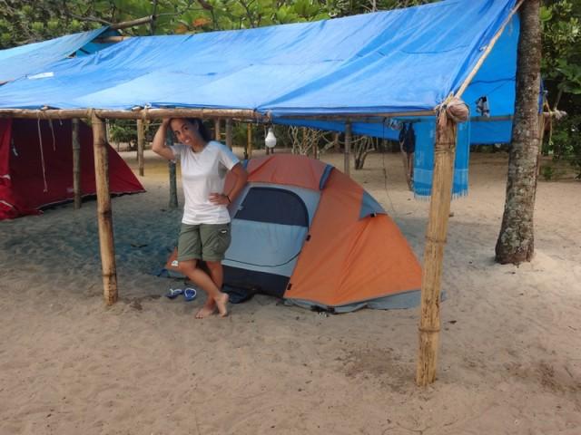 Camping do Izac - Área de Camping