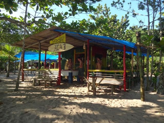 Bar do Açaí, ao lado do Camping do Izac