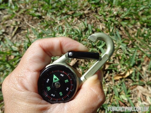 Mosquetão Bussola Termômetro 06