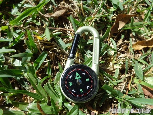 Mosquetão Bussola Termômetro 09