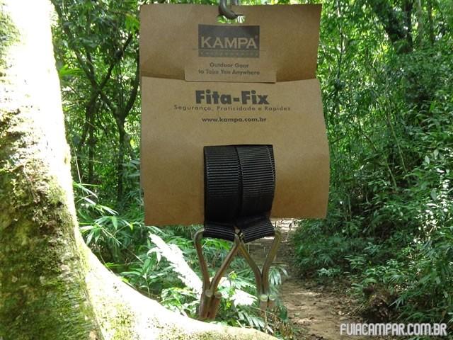 Fita Fix, essencial para acampar com rede