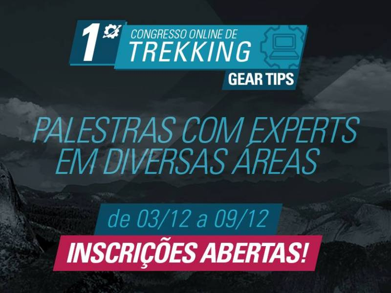 Read more about the article Vem aí 1º Congresso Online de Trekking Gear Tips