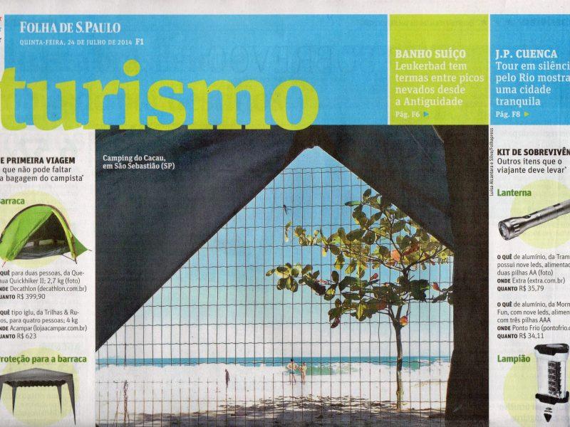 Read more about the article FuiAcampar colabora em matéria para Folha de São Paulo