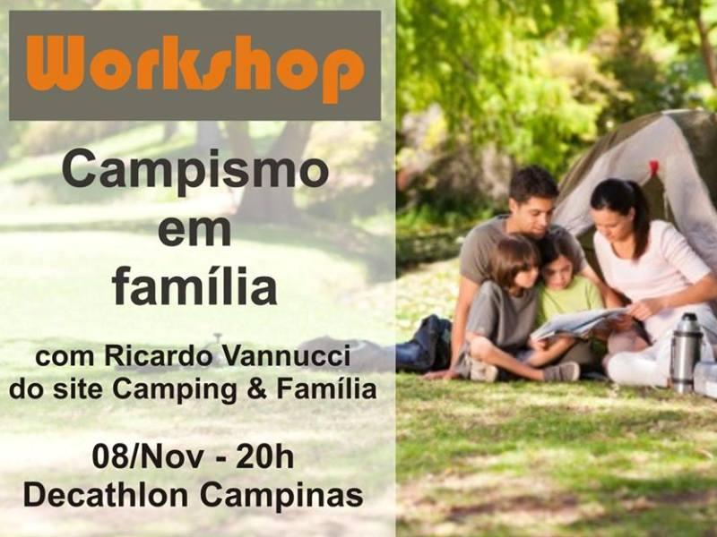 Read more about the article Workshop Camping em Família – 08 de novembro